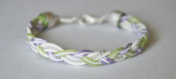 Pastel Braid Bracelet Tutorial