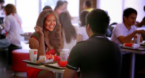 Jeric Teng treats Sen. Nancy Binay to McDonald's