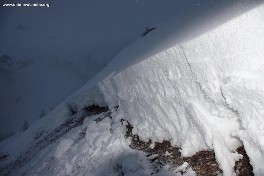 Avalanche Haute Tarentaise, secteur Tignes, Aiguille du Franchet - Photo 1
