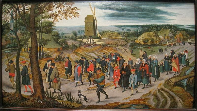 Pieter Brueghel the Younger - The Marriage Procession