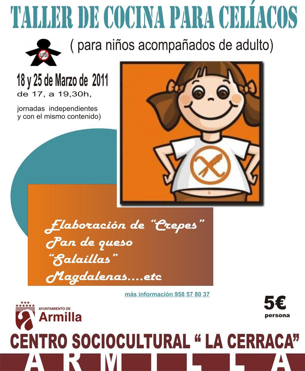 Agenda cultural de armilla marzo 2011 - Carteles de cocina ...