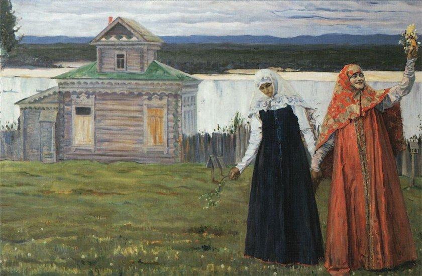 Mikhail Nesterov - Sisters