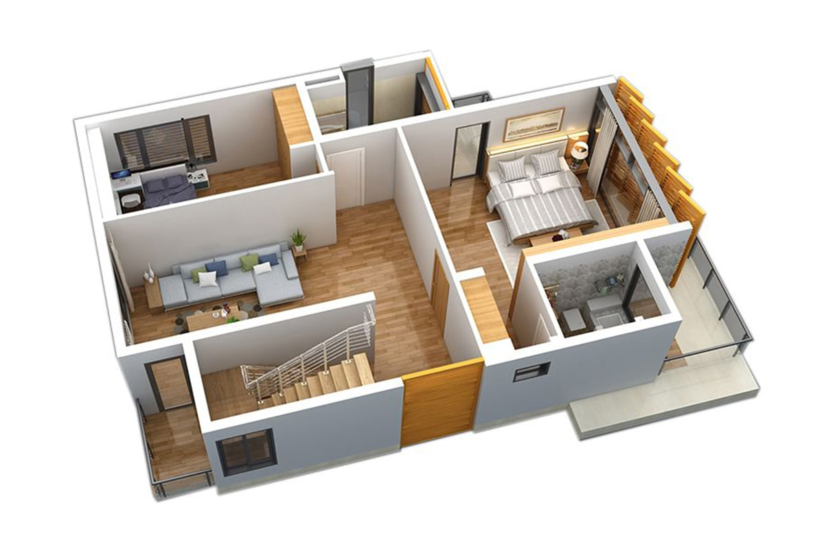 Mặt bằng tầng 2 Biệt thự San Hô FLC Sầm Sơn