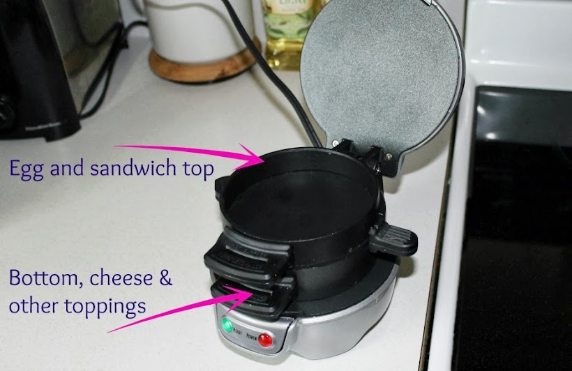 Hamilton Beach Breakfast Sandwich Maker Assembly