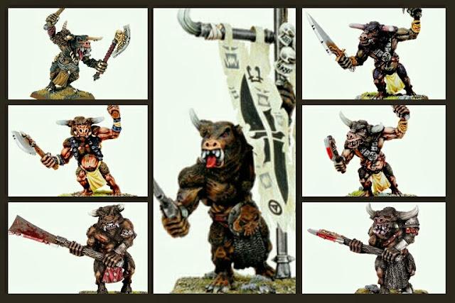 Minotauros Warhammer Fantasy