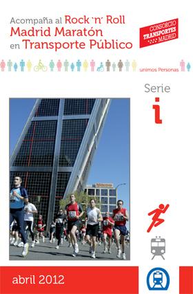 Acompaña al Rock' n' Roll Madrid Maratón en Transporte Público