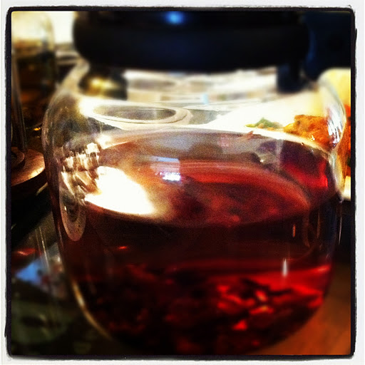Rose Hip and Hibiscus Tea