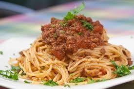 Μακαρόνια αλά Μπολονιέζ, Spaghetti ala Boloniez