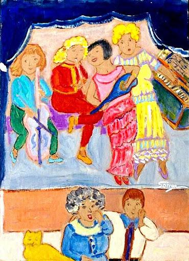 The Performance, by Sonya Gonzalez