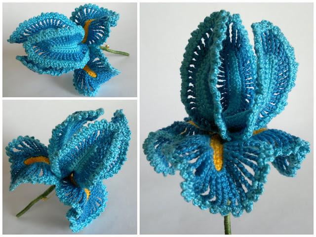 *Для вдохновения* - Страница 6 Crochet_iris