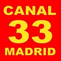 CANAL 33 MADRID EN DIRECTO - ESPAÑA