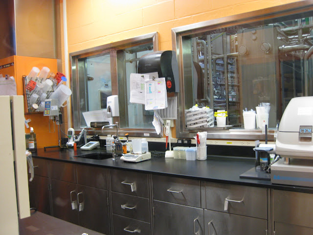 Lab at Ben and Jerry's factory in Waterbury, Vermont