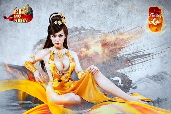 Ải Mỹ Nhân tung cosplay đón phiên bản Closed Beta 5
