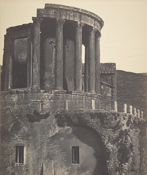Temple of Vesta at Tivoli, ca. 1858, By Robert MacPherson (1811-1872)