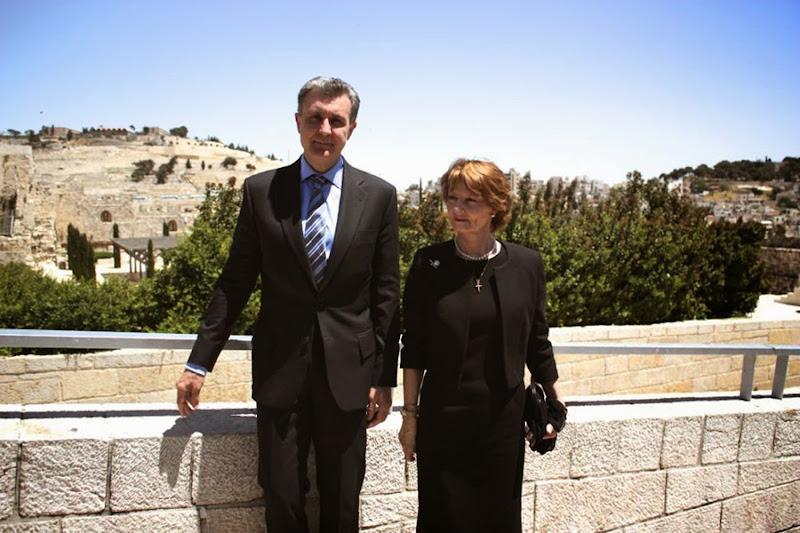Principesa Margareta, principele Radu in Israel