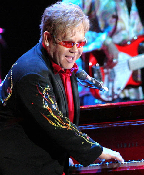 Elton John Live in Manila, Zac Efron Live in Manila, Costumes, Young Elton John, Cartoon