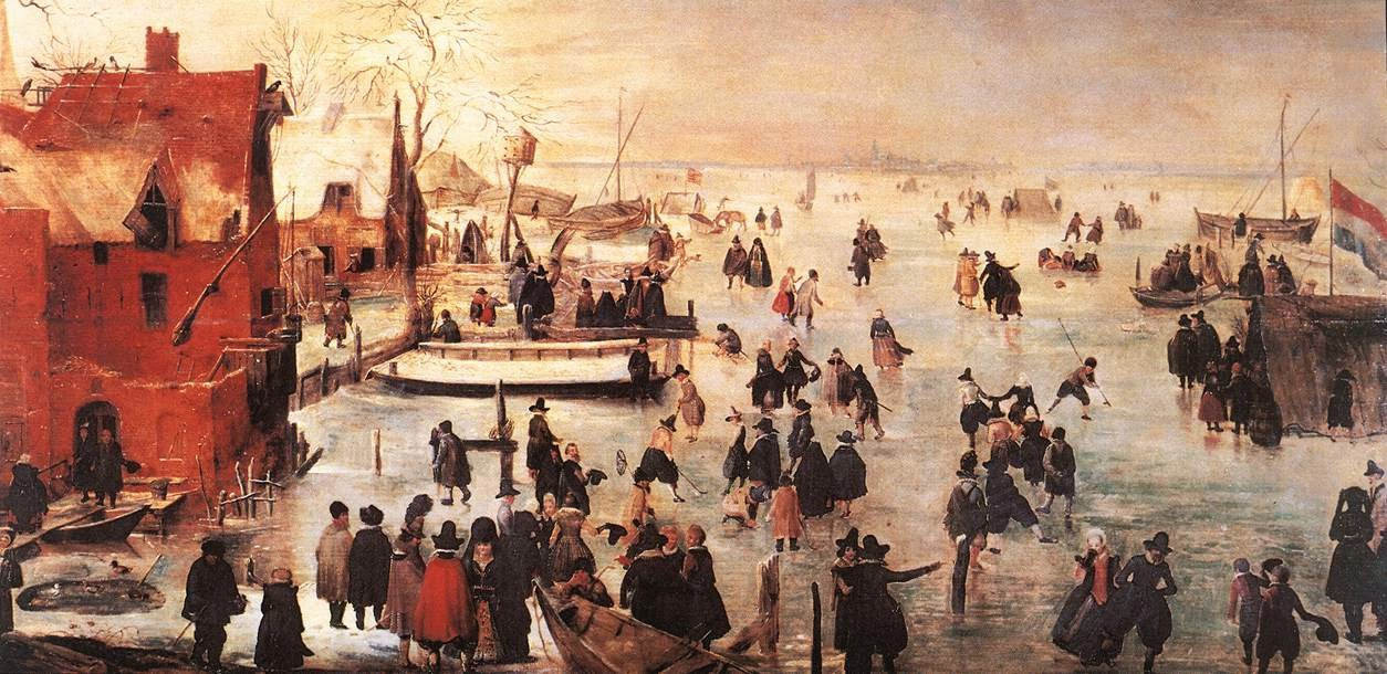 Hendrick Avercamp - Ice Landscape