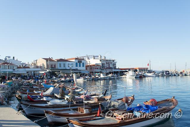 Urla limanı, İzmir