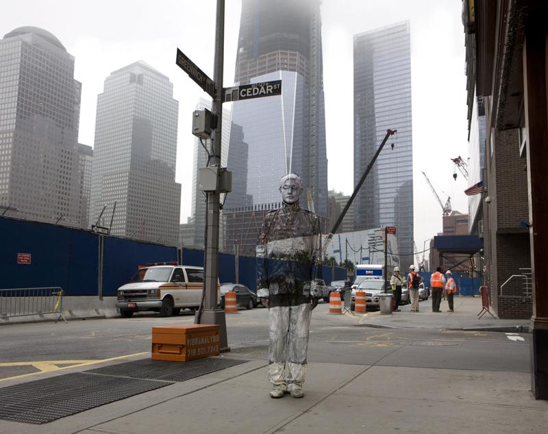 *貨真價實的隱形人:中國藝術家劉勃麟(Liu Bolin)隱形系列攝影作品! 6