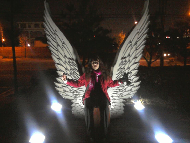 Čia kai naktį pasiklysti ir randi apšviestus angelo sparnus, net nesupranti kas per velnias čia nešė.