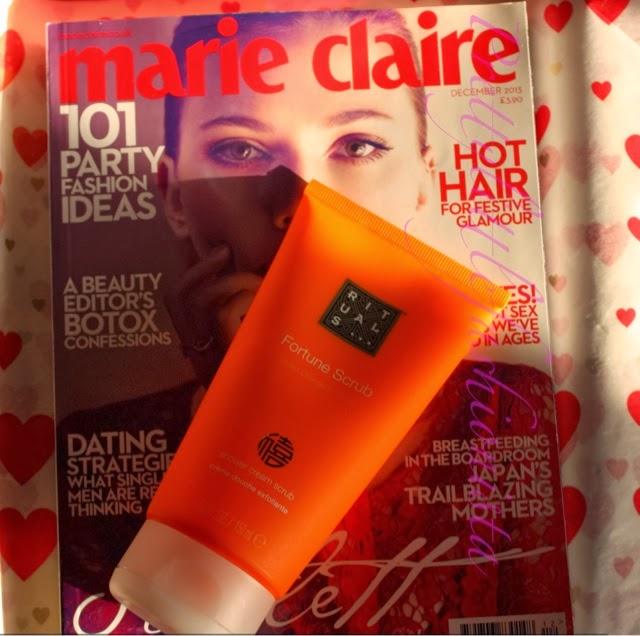 Marie Claire December 2013- Rituals Fortune Scrub