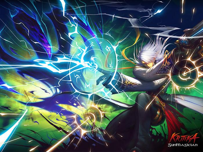Hình nền ấn tượng của Kritika Online - Ảnh 1