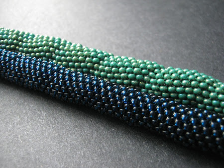 Precious Czech Seed Bead Peyote Stitch