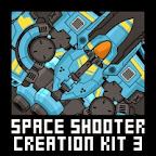 Space Shooter Modular Sprite