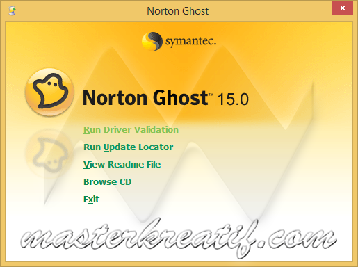 norton ghost 15.0 bootable usb software