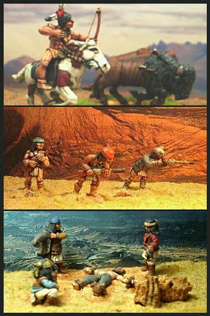 Apaches de Dixon Miniatures