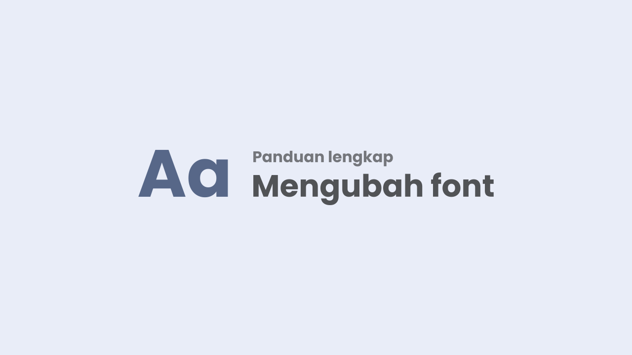 Step by Step Changing / Adding a New Font in the Median UI Template