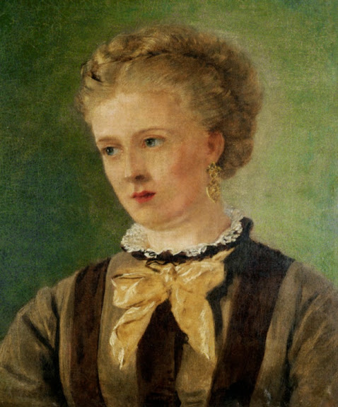 John Edward Brett - Portrait of Mary Brett