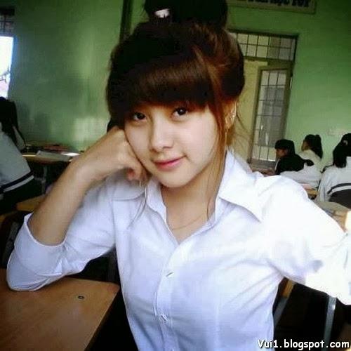Ảnh Girl Xinh 9x Cực Cute, Có Nét Đẹp Baby