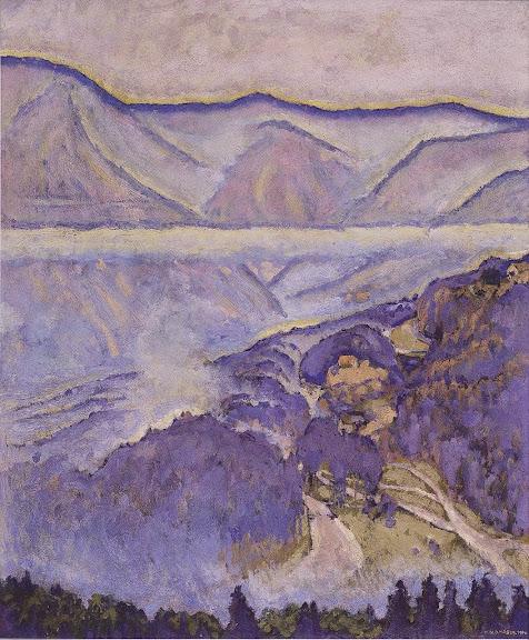 Koloman Moser - Regentag - 1914
