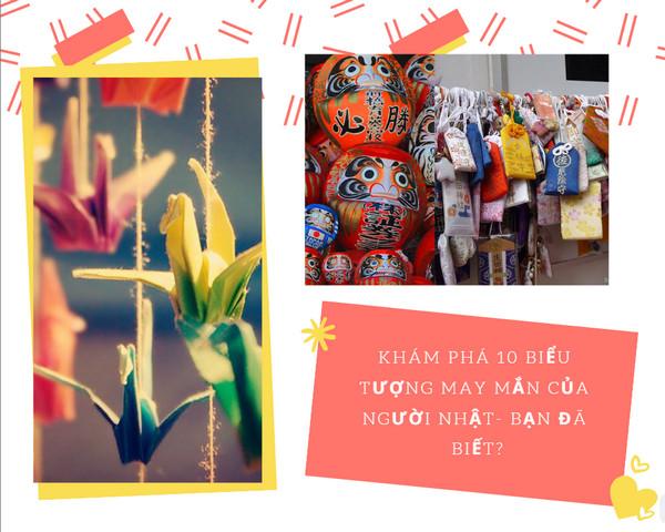 kham pha 10 bieu tuong may man cua nguoi nhat