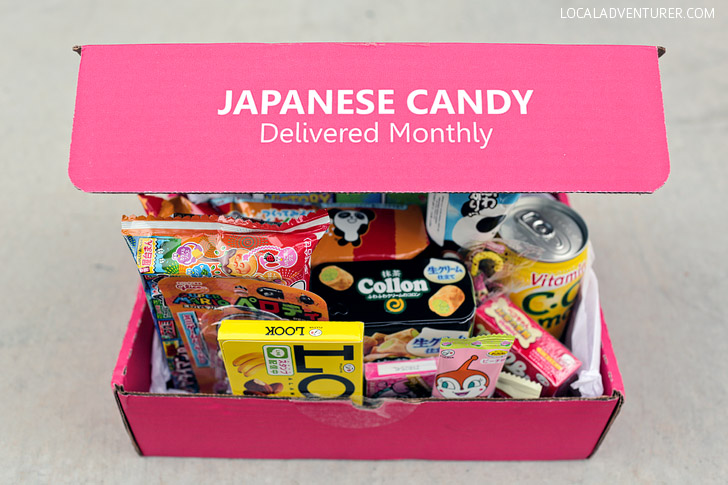Try Weird Japanese Candy with Japan Crate - A Japanese Snack Box Subscription.