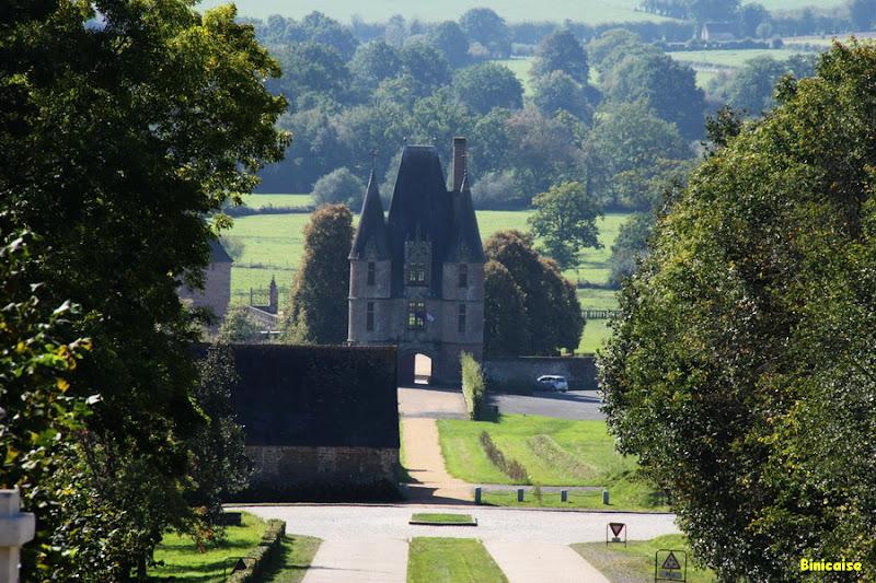 Château de Carrouges 1/4 dans Normandie