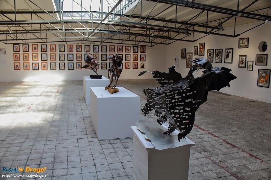 AS Ćmielów - wystawa Lubomira Tomaszewskiego