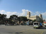 Barcelone: Plaza  Catalunya