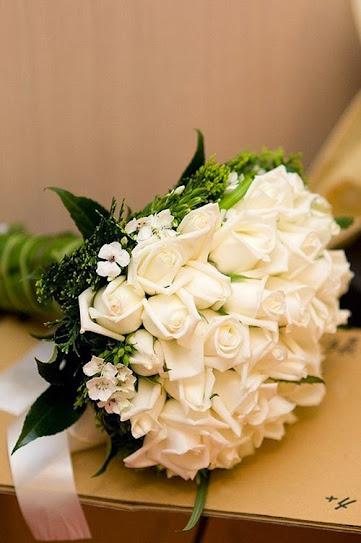 hoa tươi đà nẵng - hoa hồng trắng