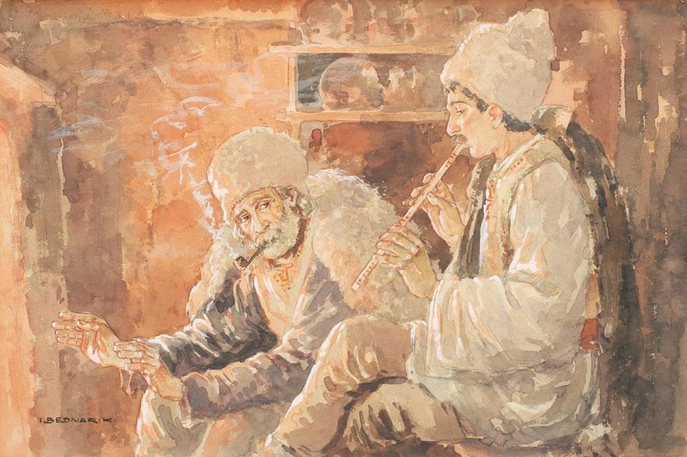 Ignat Bednarik - La focul vetrei