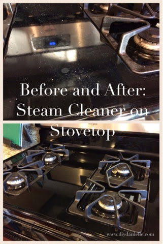 Hand Held Steam Cleaner Before And After Diy Danielle
