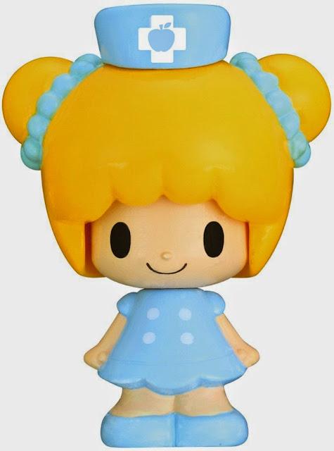 Koedachan KFG-01 Búp bê y tá thay đổi nét mặt đội chiếc mũ cực kì xinh xắn