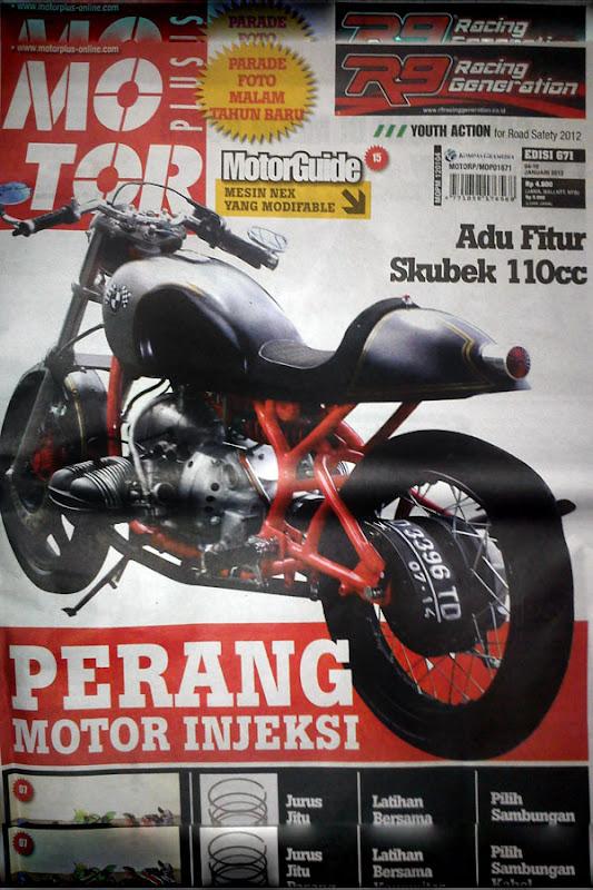 BMW Motorcycle Club Jakarta  BMW R69s Cafe Racer Dladu  Modifikasi