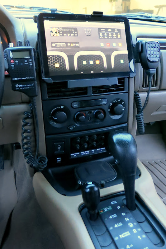 Android tablet as car head unit
