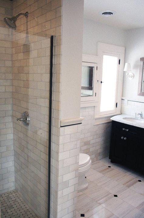 The tile shop design by kirsty rehab addict for Bathroom rehab