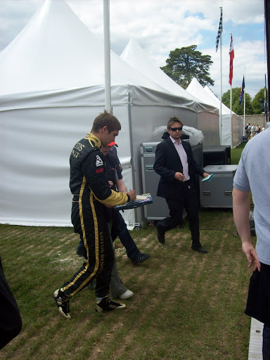 Vitaly Petrov at Goodwood