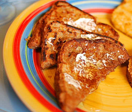 Soymilk french toast recipe