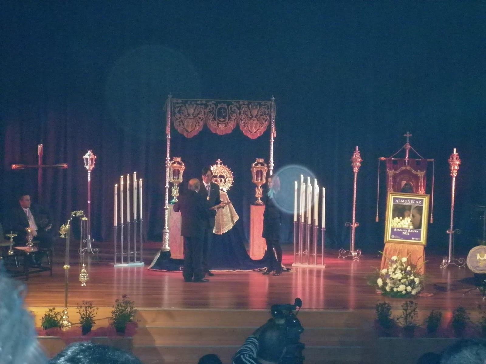 Foto del acto. Foto de http://elhorquillerosexitano.blogspot.com/.