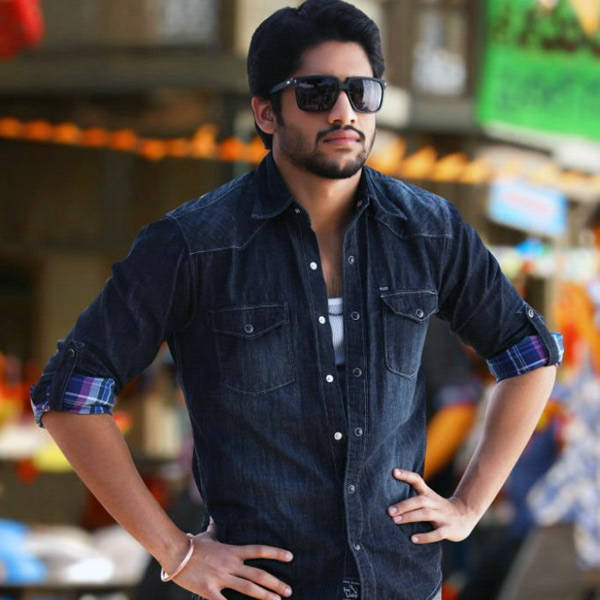 Naga Chaitanya in a still from the Tamil movie Autonagar Surya. www.moviegalleri.net